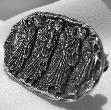 Parthenon frieze brooch