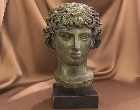 bronze Antinoos of Delphi