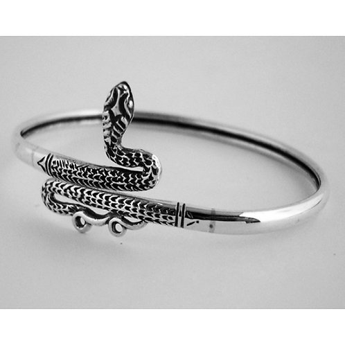 ornate snake bracelet