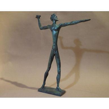 bronze Zeus, god of hospitality