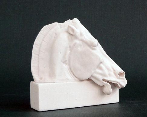 marble horse of Selene from the Parthenon (mini)