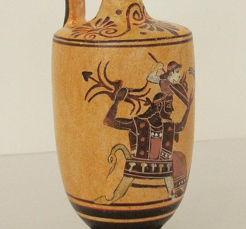 black-figure lekythos - the birth of Athena