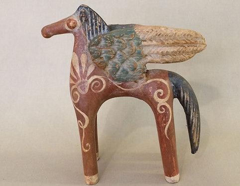 baby terracotta Pegasus