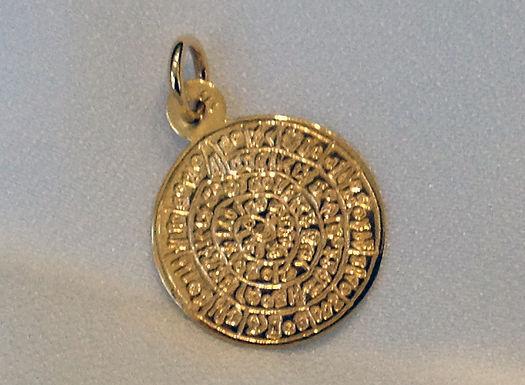 Phaistos Disc pendant (mini)