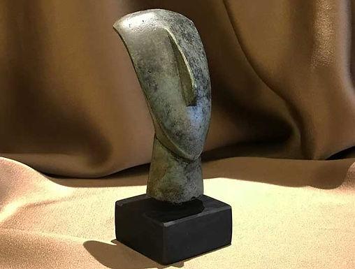 bronze Cycladic head