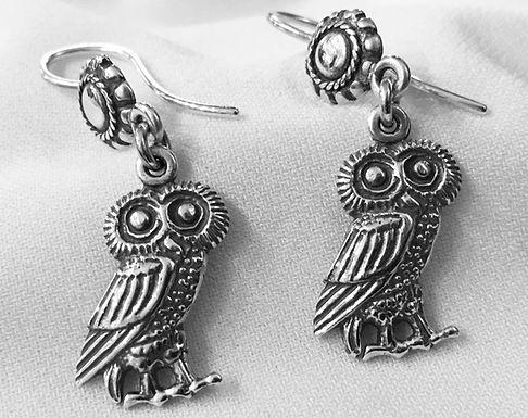 owl of Athena earrings