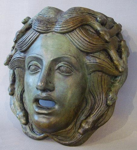 bronze mask of Medusa