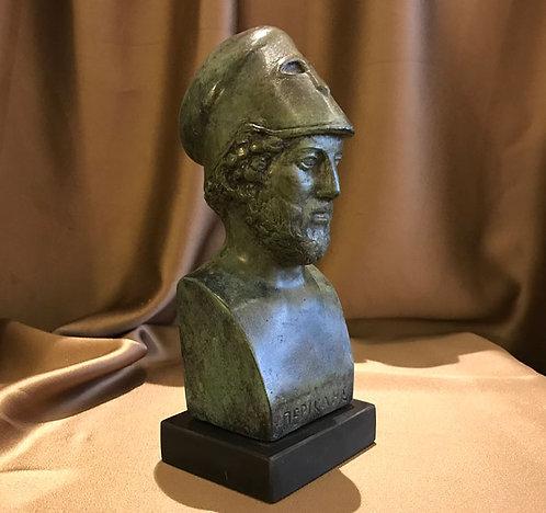 bronze Perikles the Athenian statesman