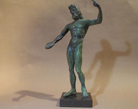 bronze Zeus, king of the gods
