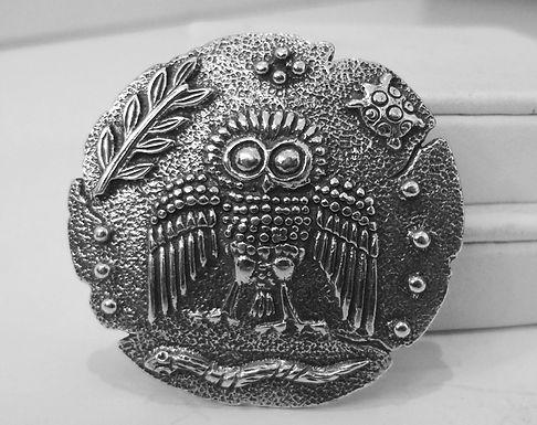 owl of Athena pendant/brooch