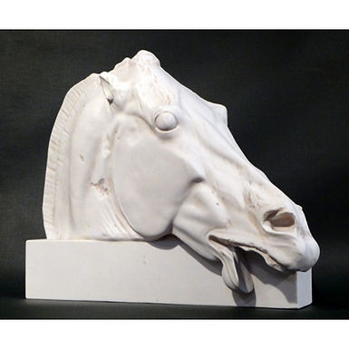 marble horse of Selene from the Parthenon (large)