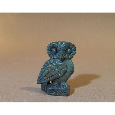 baby bronze lookout owl