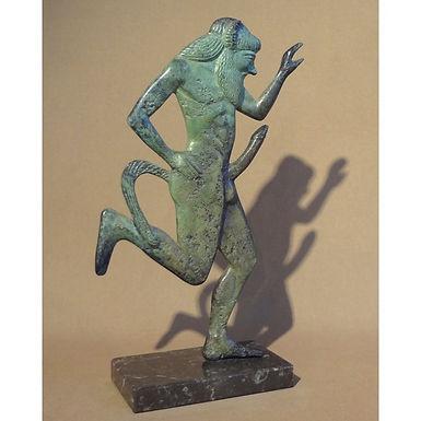 energetic bronze satyr!