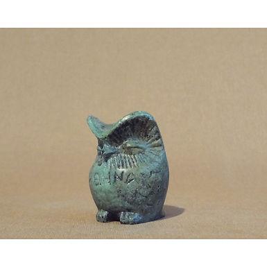 baby bronze chunky owl