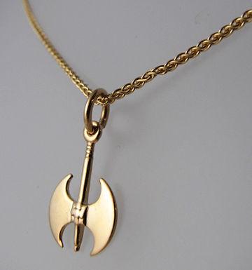 labrys double-axe pendant (mini)