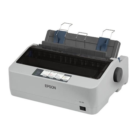 Epson LQ-310 Dot Matrix - Inkjet Printer