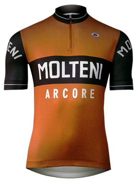 Camisa Ciclista Molteni Arcore