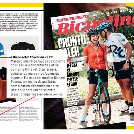 Biene na Edição Outono Bicycling Brasil/18