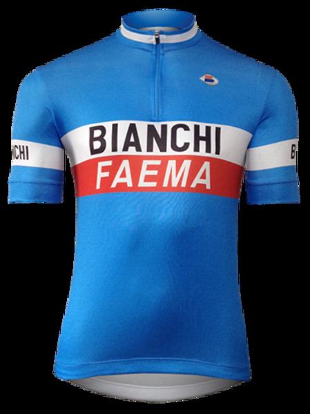 Camisa Ciclista Bianchi Faema