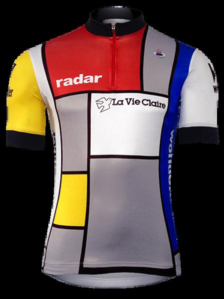 Camisa Ciclista La Vie Claire