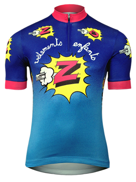 Camisa Ciclista Z Vetements
