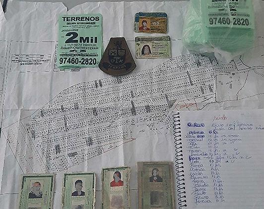 Governo flagra comércio ilegal de lotes