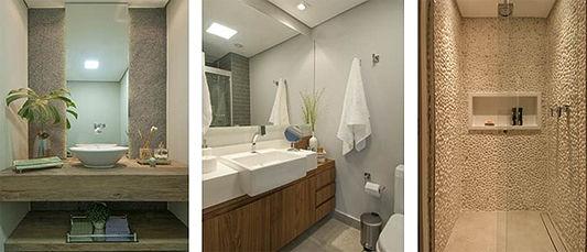 Como ficam banheiros e lavabos com a oferta de imóveis menores (Luis Gomes - Divulgação).j