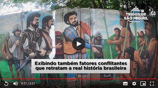 Painel em muro de 1 km no bairro contará