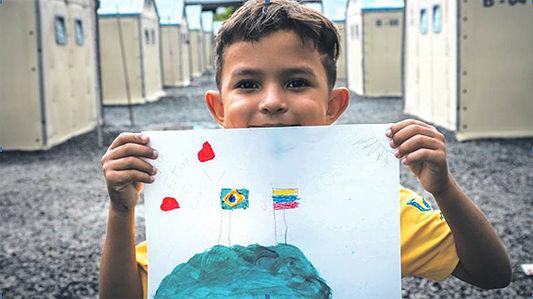 Escolas de SP integram projeto humanitár