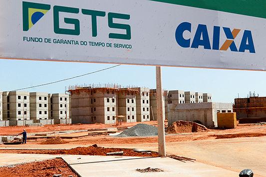 Governo esvazia recursos do FGTS voltados à habitação popular (Arquivo).jpg
