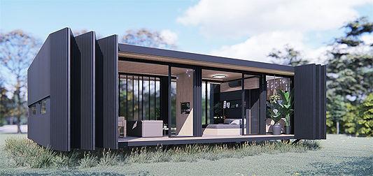 Mini moradias modulares, que podem ser transportadas 2 (Divulgação).jpg