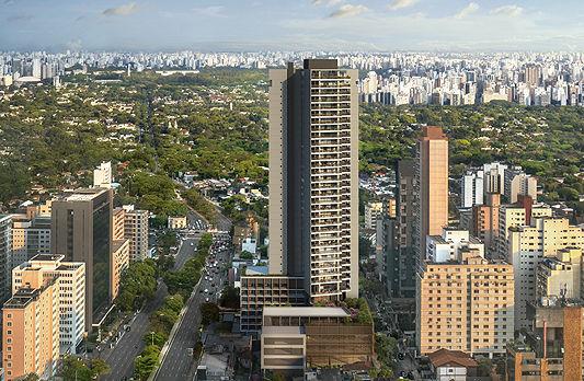 Torre residencial com 36 andares será la