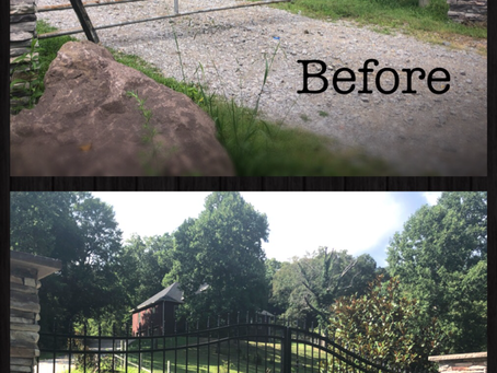 A Dated Gate Gets A New Look!
