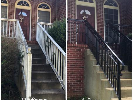 Our Latest Custom Built Ornamental Stair Rail Project.