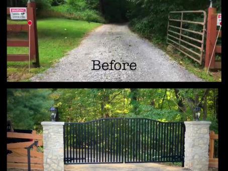Custom Automatic Driveway Gate