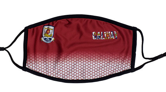 Galway Face Mask Maroon