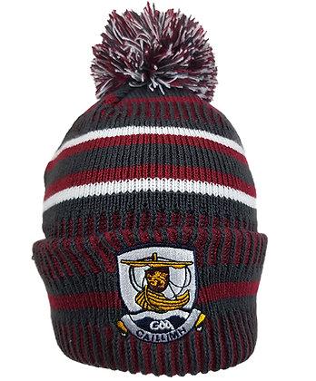 Galway 1C GAA Bobble Hat