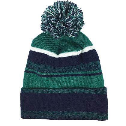 Melange: Navy/ Dark Green/ White