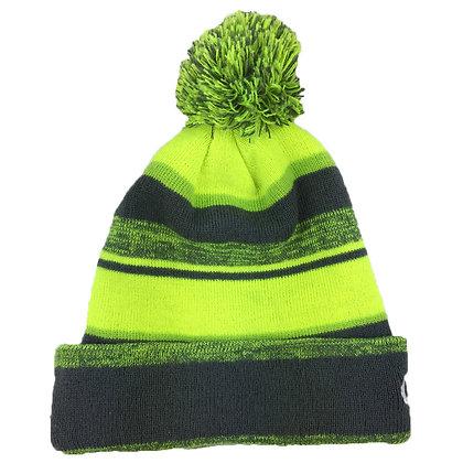 Melange: Charcoal/ Neon Yellow/ Green