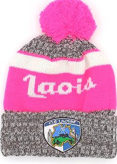 Laois Pink Bobble Hat