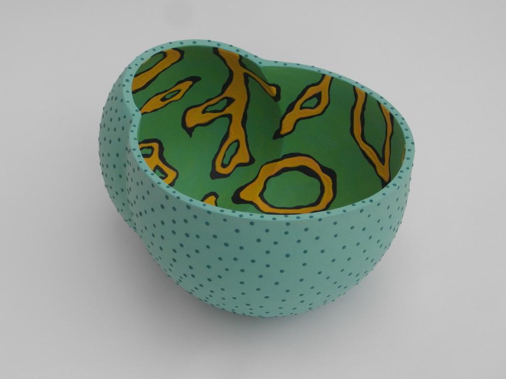 Green mandarin; 20,5 X 33 X 27,5