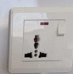 1 Gang 13A Wall Socket Multiple Pin