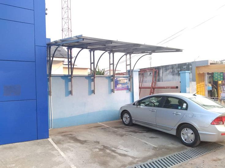 Solar Car Port 6KVA