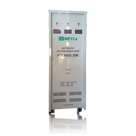 Ortea Polaris 20KVA AVR Three Phase