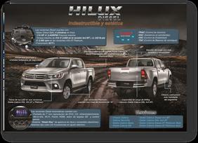 """Los tres datos de por que nombran a la Toyota Hilux """"La Indestructible"""""""