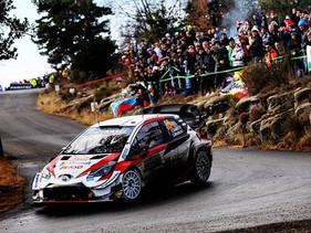 Toyota Yaris obtuvo doble podio en Montecarlo, en el WRC