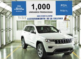 Jeep® Grand Cherokee Blindada No. 1000 sale de la línea de producción