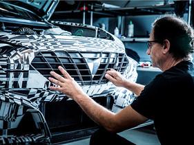 Un automóvil de carreras impreso en 3D