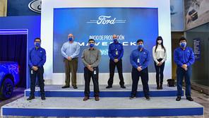 Inicia la producción de Ford Maverick