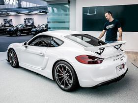 La experiencia de recoger un Porsche en la fábrica